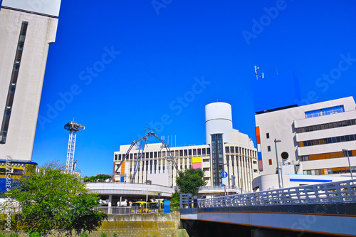 Fotografie, Obraz 神奈川県横浜市戸塚区の戸塚駅東口の風景