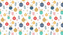 Christmas Theme Background Ill...