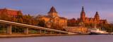 Fototapeta Do pokoju - Panorama of the historic part of Szczecin in Poland