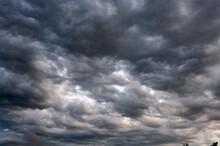 Clouds In The Sky Before A Thu...