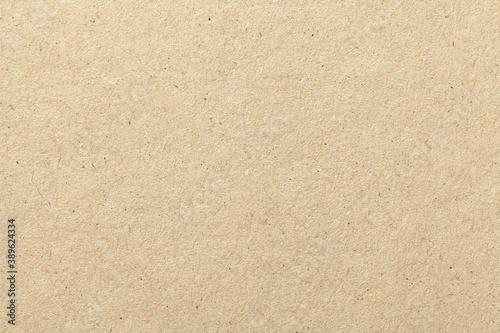 Fototapeta Texture of beige old paper crumpled background. Vintage grunge surface backdrop. obraz