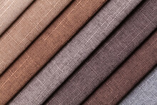 Sample Of Woven Textile Brown ...