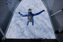 Skydiving. A Skydiver Has Just...