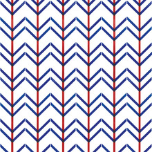 Vector Blue Chevrons Red Strip...