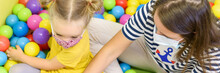 Toddler Girl In Child Occupati...