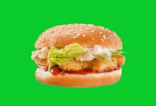 Tasty Chicken Nugget Burger - ...