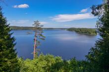 Scenic View Of Lake Sapsho In ...