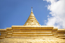 Wat Phra That Chae Haeng In Nan Thailand