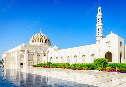 Sultan Qaboos Grand Mosque Fotobehang