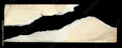 Fototapeta old vintage torn paper texture background obraz