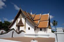 View Of Wat Phumin In Nan Thailand
