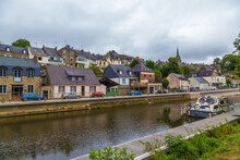 Josselin, France. Picturesque ...