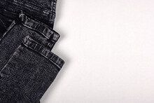 Close Up Denim Texture, Cotton...