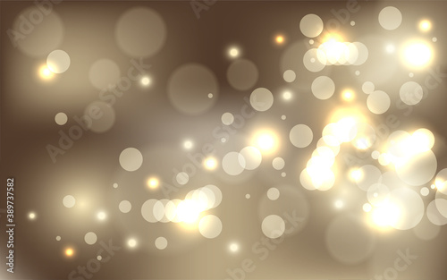Obraz Beautiful abstract light bokeh background with blur effect is perfect for luxury or product themed designs - fototapety do salonu
