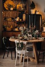 Christmas Table Decoration, Ba...