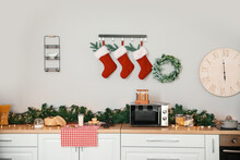 Interior Of Modern Kitchen Dec...