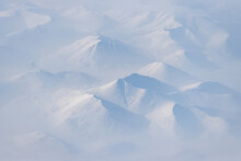 Aerial View Of Snow-capped Mou...