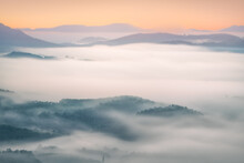 Fog Over The Mountains