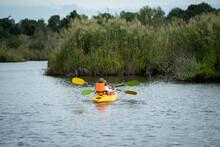 Travel Kayaking, Women Paddlin...