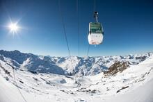Les Menuires Resort In Winter....