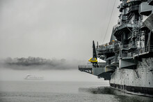 """USS Intrepid (CV/CVA/CVS-11), Also Known As The Fighting """"I"""", Is One Of 24 Essex-class Aircraft Carriers Built During World War II For The United States Navy."""