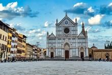 Piazza Santa Croce With Santa ...