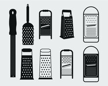 Grater Sign Symbol Icon Isolated Vector Illustration