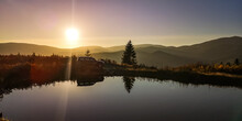 SUV Travels In The Autumn Carpathians