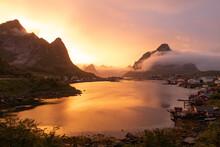 Sunset, Reine - Lofoten Island...