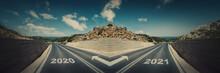 Crossroad Concept, Road Split ...