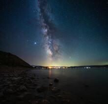 Milky Way Over Bear Lake Utah