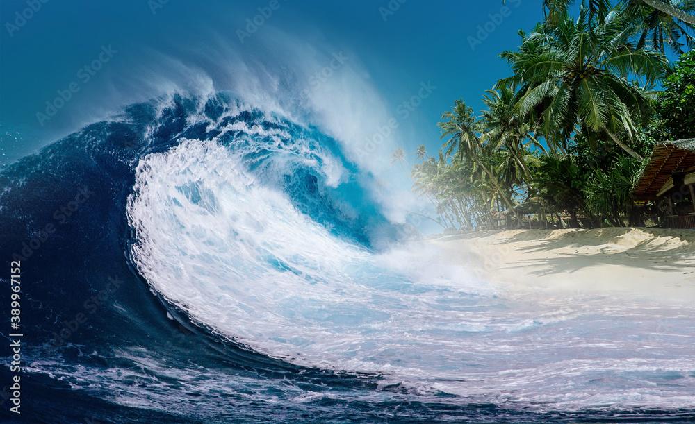 Fototapeta Tsunami A311061