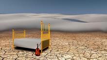 Quiet Place In The Desert. Vio...
