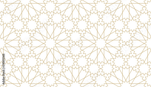 Fotografia Seamless vector pattern in authentic arabian style.