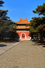 Cixi Tomb Stele Building