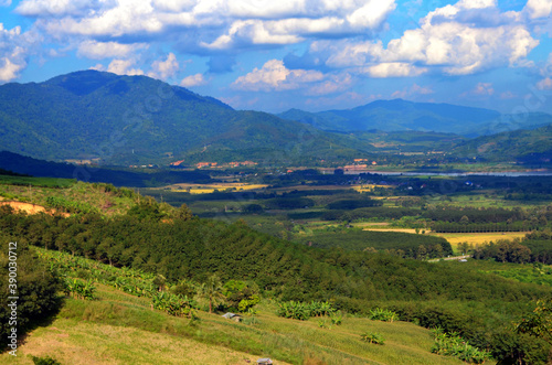 Fotografiet Chiang Rai, Thailand - Huaisai Main Viewpoint