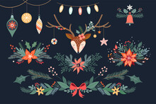 Christmas Floral Collection Wi...