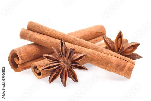 Photo Spicy cinnamon sticks