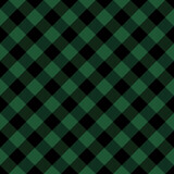 Diagonal tartan Christmas and new year plaid. Scottish pattern in green and black cage. Scottish cage. Traditional Scottish checkered background. Seamless fabric texture. Vector illustration - 390078164