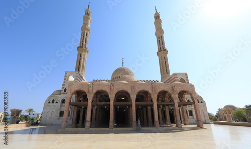 old mosque in Egypt, Sharm El Sheikh Fotobehang
