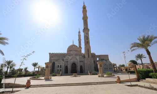 old mosque in Egypt, Sharm El Sheikh Canvas