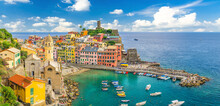 Vernazza Village With Typical ...