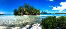 A Panorama View Of Bora Bora
