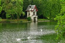 Olivet; France - July 13 2020 : Loiret Banks