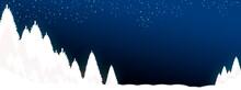 Nuit étoilée Blanche Lune Ne...