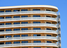 Hotel Balconies  Pattern - And...