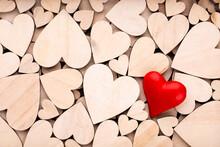 Red Heart, Valentine Day Greet...