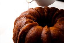 Close Up Of Bourbon Sugar Syru...