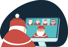 Santa Claus Has A Conference V...