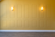 Wooden Panels Wall Design